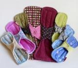 DIY para chicas: FABRICA EN CASA TOALLAS FEMENINASECOLÓGICAS